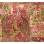 #102P Green Tara-pink